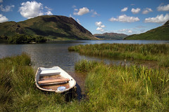Moored, Crummock Water. (Tall Guy) Tags: uk boat lakedistrict cumbria crummockwater tallguy