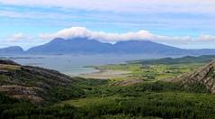 Coastal View (bjorbrei) Tags: sea mountains norway forest coast scenery fjord helgeland nordland alstahaug søvik