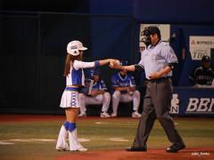 diana Miho / Yokohama Stadium (zaki.hmkc) Tags: baseball cheer miho  diana2014  diana denabaystars