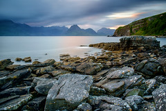 Elgol LE II (Damon Finlay) Tags: longexposure bw seascape black mountains skye water beauty landscape coast scotland highlands movement rocks long exposure fuji isleofskye natural 10 scottish collection stop filter nik wilderness naturalbeauty cuillins isle fujinon elgol scottishhighlands blackcuillins highlandsandislands xe1 watermovement f284 nd110 bwnd11010stopfilter xf1855mm xf1855mmf284 nikcollection