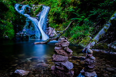 Wasserfälle Allerheiligen (tschischek) Tags: wood blue green water wasser wasserfall stones steine waterfalls grün blau holz schwarzwald blackforest allerheiligen