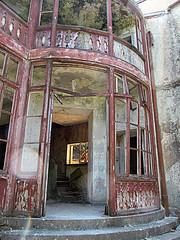 De Vecchi Villa, Profitis Ilias (pefkosmad) Tags: vacation holiday building abandoned home italian greece governor villa greekislands griechenland derelict rhodes dodecanese profitisilias hdreffect pefkosjune2014 cesaremariadevecchi