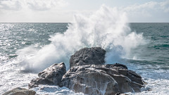 Landunvez (y.caradec) Tags: ocean sea mer france rock lumix rocks europe waves wave bretagne vague vagues rocher rochers bigwaves aot finistre 2014 bigwave landunvez merdiroise nordfinistre gx7 grossesvagues grossevague dmcgx7 lumixgx7 10aot2014 aot2014