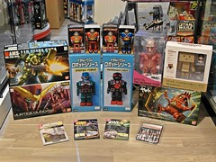 Recent Arrivals  Metal House Tin Robots & Others  As at 23 July 2014 (My Toy Museum) Tags: house metal tin robot justice energy gun machine craft astronaut plastic puzzle torn kit arrival yamato gundam titan nano rg recent analyzer bandai doga colossus otti hguc revoltech geara danboard