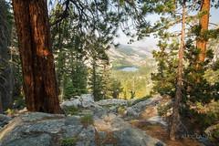a last view of Merced Lake (alicecahill) Tags: california ca usa lake mountains nature yosemite sierranevada mercedlake alicecahill highsierracampstrip