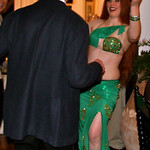 "Green modern Egyptian bellydance costume <a style=""margin-left:10px; font-size:0.8em;"" href=""http://www.flickr.com/photos/51408849@N03/14761816064/"" target=""_blank"">@flickr</a>"