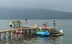 Smile for the camera (alderney boy) Tags: bali lake temple pier picture photographers quay pedalo danau beratan bedugul candikuning