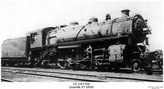 CIL 2-8-2 504 (Robert W. Thomson) Tags: railroad train kentucky railway trains steam louisville locomotive trainengine steamengine steamtrain cil 282 monon chicagoindianapolisandlouisville