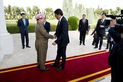 Visita di Renzi in Iraq (Palazzochigi) Tags: iraq erbil masudbarzani matteorenzi kurdistaniracheno massudbarzani