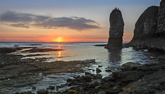 The Stack - Flamborough (Katybun of Beverley) Tags: seascape clouds sunrise landscape coast coastal coastline eastcoast thestack flamborough