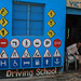 Driving School Painting