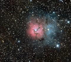 M20 Trifid Nebula (Harsh Kaushikkar) Tags: 6 canon spectrum full sirius orion cooled pixinsight atrc eos550d rcdo