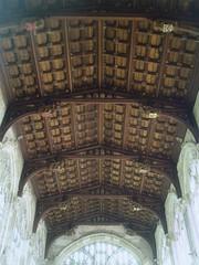 Chancel Ceiling, Stratford upon Avon (Aidan McRae Thomson) Tags: church ceiling warwickshire stratforduponavon