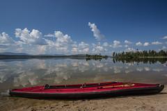 Rogen Nature Reserve (qitsuk) Tags: lake reflection beach landscape kayak sweden schweden canoe kayaking canoeing watersports scandinavia klepper rogen foldingkayak jämtlandslän foldingboat gränselandet rogennaturereserve