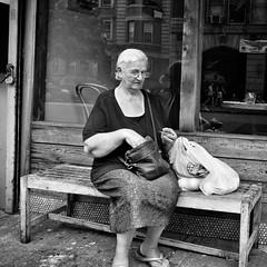 Cortelyou Road (AMRosario) Tags: nyc blackandwhite brooklyn streetphotography streetphoto kensington newyorkers ditmaspark ditmas fujix20