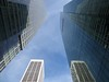 looking up in NY (sonyacita) Tags: nyc reflection skyscrapers mirrors lookingup