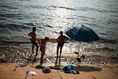 Ordzhonikidze, Crimea (gorborukov) Tags: street sea beach umbrella streetphotography crimea      eosm ordzhonikidze mirrorless everybodystreet