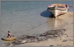 2014-08-10_Kreta_Balos Beach_IMG_1388_ (dieter_weinelt) Tags: panorama beach sunshine boats coast sand kreta august boote crete mittelmeer mediterreneansea kuste balosbeach