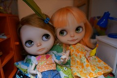Kiki's second Wubba color dress