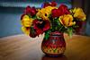 Vivid colors (Andrea Rapisarda) Tags: flowers red yellow nikon bokeh giallo fiori rosso colori d800 vividcolors ©allrightsreserved