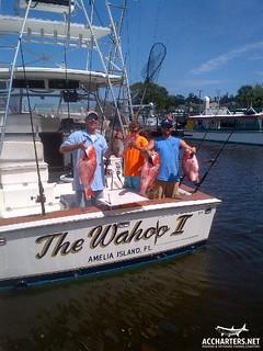 deep sea fishing charter Amelia Island, Florida