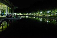 Some Quiet time with friends (seeveeaar) Tags: city friends light 2 food india reflection night court high quiet with shot time low some iso fc chennai infosys tamilnadu mahindra mcity