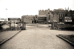 Railyards (Dundee City Archives) Tags: old car station st yard self drive hotel andrews cathedral photos dundee railway goods queens greenmarket mitchells van dca ltd hire railyards sidings freightliners olddundeephotos