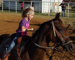 Welch Jr Rodeo, August 2014 (Garagewerks) Tags: horse girl sport female race all child sony barrel sigma august jr rope rodeo cans cowgirl welch roping 2014 50500mm barrelracing views50 f4563 slta77v