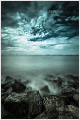 Cold (spareaccmok) Tags: seascape nikon singapore rocks long exposure wind chill ecp preset d700 1424mm sw150lee