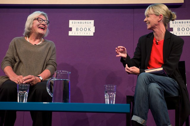 Lynn Barber interviewed by Kate Mosse at the Edinburgh International Book Festival