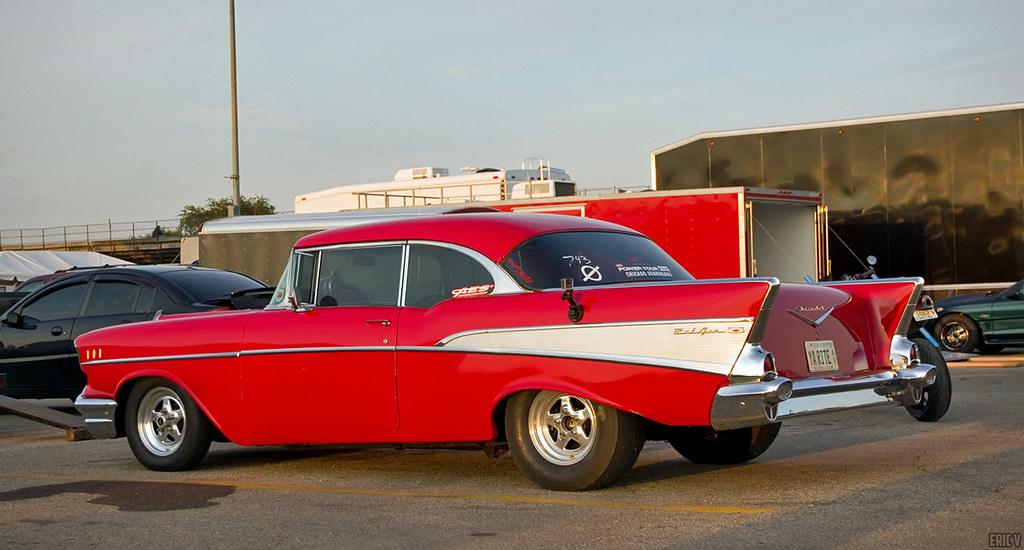 8fbed414768a YA RITE  57 (evogz) Tags  red chicago classic cars chevrolet belair car
