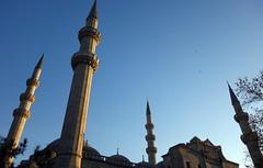 Süleymaniye, four minarets