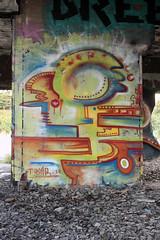Digital Impulses (Tekar !) Tags: urban streetart canada colour art abandoned digital newfoundland graffiti freestyle decay urbandecay style stjohns redcliffs urbanart spraypaint form graff impulse fragment tekar circusstyle digitalimpulses