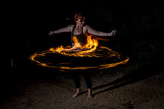 Fire Jam - Sept 2014-24 (rich tarbell) Tags: girls hoop fire eating circus blowing spinning poi juggling jam hooping trapeze silks troupe scintillation