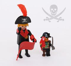 Pirates: Playmobil Vs LEGO (Andrea Lattanzio) Tags: toys lego pirates redbeard barracuda playmobil jollyroger galeone pirateship vintagetoys 6285 geobra blackseasbarracuda hansbeck galeonepirati 3550playmobil geobrabrandstatter 6285blackseasbarracuda