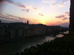 Sunset and cocktails at Sky Lounge (AJoStone) Tags: italy florence
