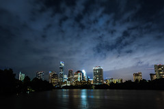 Thunderstorm rolling in (Blu3ness) Tags: skyline austin landscape downtown 1740mml