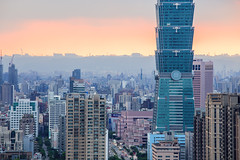 IMG_4623 (JIMI_lin) Tags: sunset 101 taipei 信義區 觀音山 大冒險 虎山峰