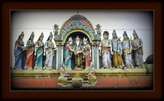 Vinayagar Thirumanam (Avanibhajana) Tags: india art heritage temple ganesha marriage ganesh gods hindu tamilnadu stucco southindia siddhi riddhi vinayak chidambaram pillayar buddhi vinayagar ganapathi