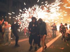 R0010950 (adam sharp) Tags: barcelona city urban espaa festival fire photography spain europe barca fireworks run catalonia catalunya gr tradition festivities iv ricoh catalua correfoc lamerc vialaietana catalonha