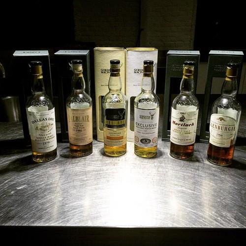 De line-up van de tasting deze avond. En het was super. #whiskywithfriends #singlemalt #scotch #whisky