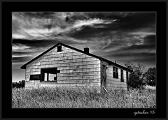 Abandoned in a Field 2 (the Gallopping Geezer 3.3 million + views....) Tags: house building abandoned home rural canon decay michigan farm country structure faded worn weathered southeast derelict decayed geezer corel 6d dwelling 2015 tamron28300