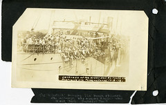 1918 08 12 - POSTCARD - WTM c - Returning Australian veterans of the Great War passing thru CZ aboard SS SUEVIC (BlackShoe1) Tags: suevic whitestar australians aussies australia greatwar wwi worldwarone ss sssuevic soldiers veterans liner oceanliner canal canalzone panama panamacanal