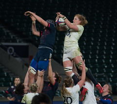 England v France #26 (Claire Stones) Tags: france redroses twickenham 6nations rugbyunion 2017 twickenhamstadium rugby englandvfrance england sixnations womensrugby