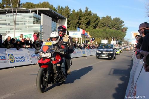 1er passage sur la ligne d'arrivée à Istres