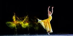 balet (sandilesmana28) Tags: flash lighting balet yellow women art movement shadow strobo
