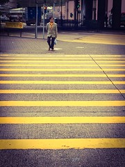Please mind the yellow line (Silasxing) Tags: match yellowline line yellow