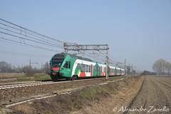 FER: ETR 350 001, Tavazzano (I) (Alexandre Zanello) Tags: flirt stadler fer tper ferrovie emilia romagna