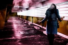 Performance by ... Soraya (johann walter bantz) Tags: fujiglobale fujifrance fuji soraya urbanart urban architecture imagination creative parking artofvisual artistic performance 23mm xpro2 france fujifilm