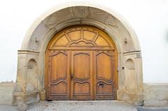 Porte de la Maison des chanoines de Molsheim (Zéphyrios) Tags: alsace d7000 nikon molsheim porte architecture